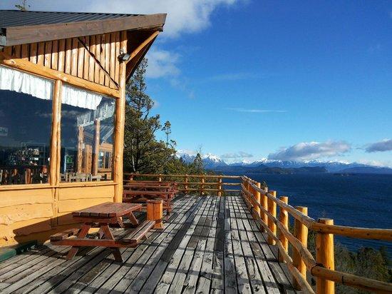 Confeitaria El Mirados no Cerro Viejo em Bariloche