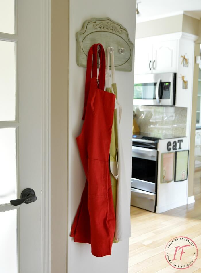 Kitchen Apron Holder