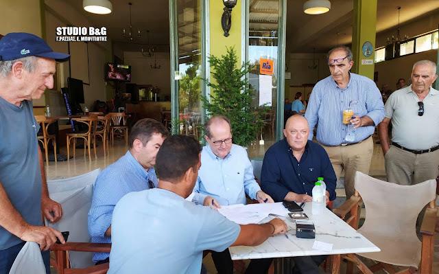 Ξεκινάει ο εργολάβος το έργο άρδευσης στα Φίχτια - Ολοκληρώνεται η μελέτη για τον κόμβο