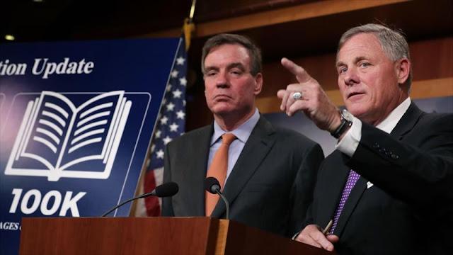 Senado de EEUU confirma injerencia de Rusia en elecciones