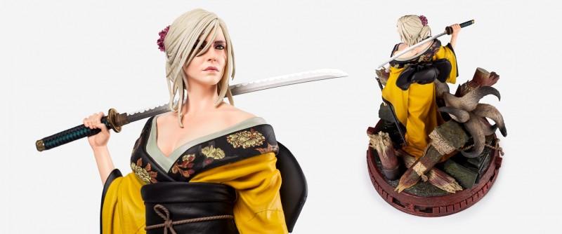 CD Projekt reveals alternate version of Ciri and Kitsune Figurine