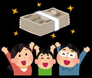国民1人に10万円給付