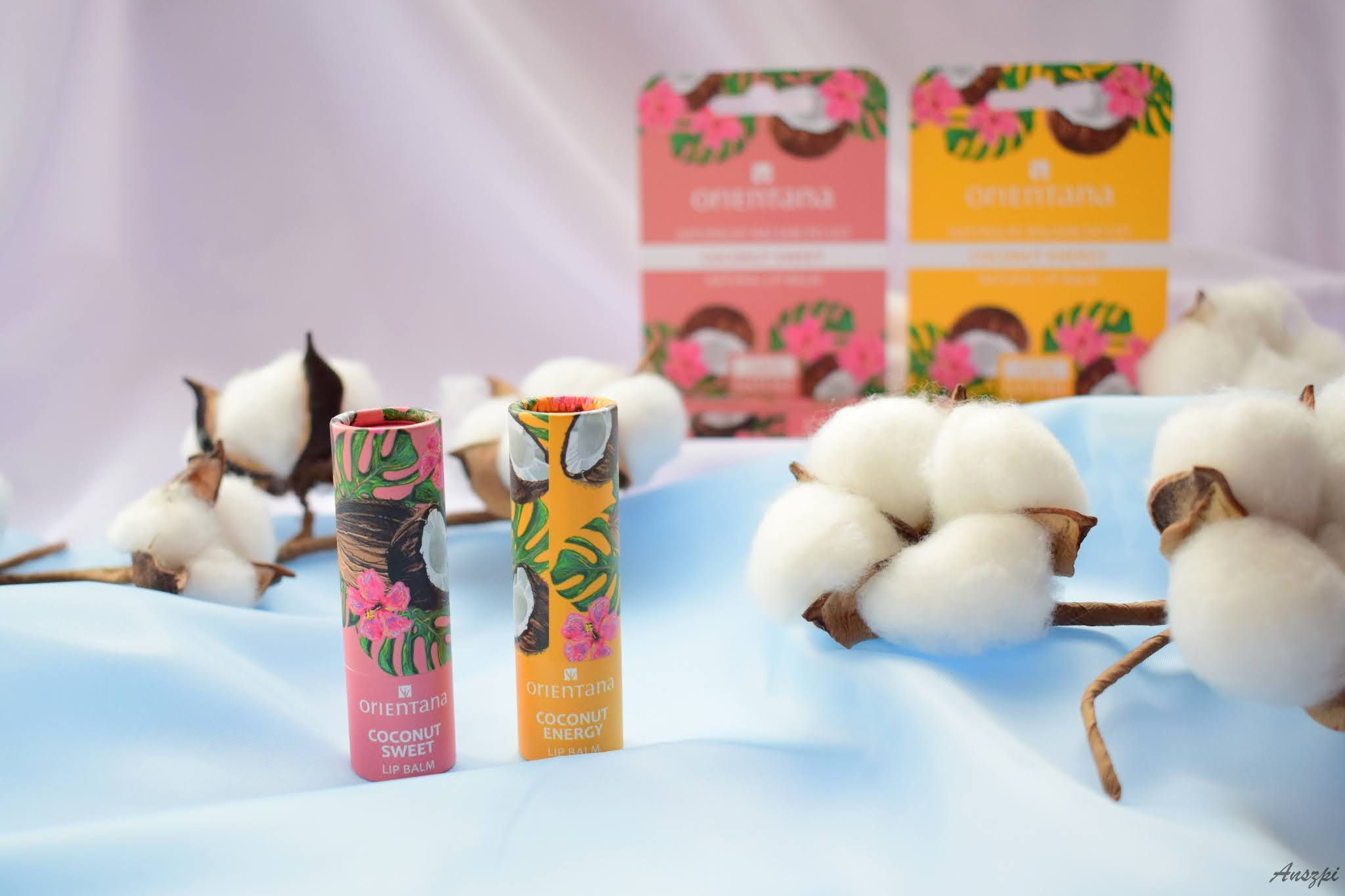 Naturalny balsam do ust Sweet i Energy