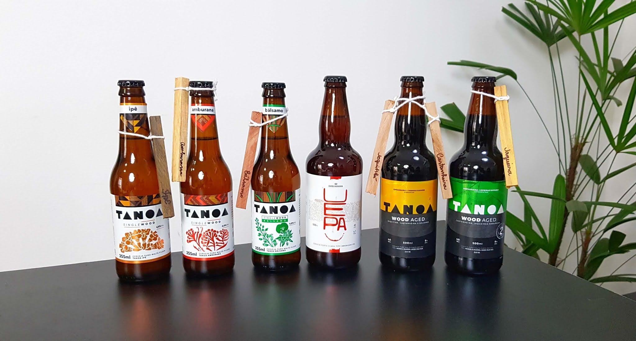 Cervejas da Cervejaria Embuarama