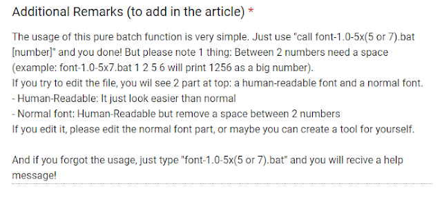 CMD Custom Numerical Fonts | NumberFont v.1.0 By nahkd