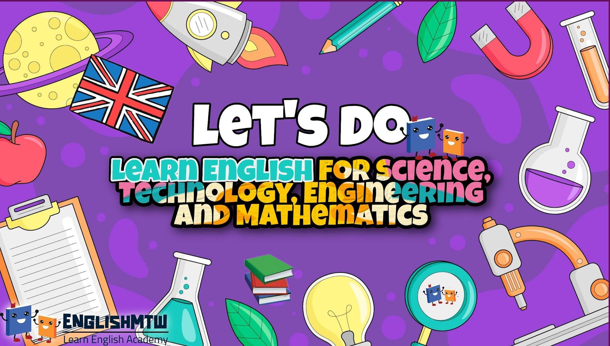 15 سلسلة فيديو رائعة لدراسة اللغة الإنجليزية لـ STEM
