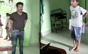 "Making Of Director Samuthirakani's upcoming Tamil film ""Appa""."