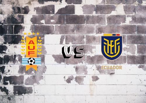 Uruguay vs Ecuador  Resumen