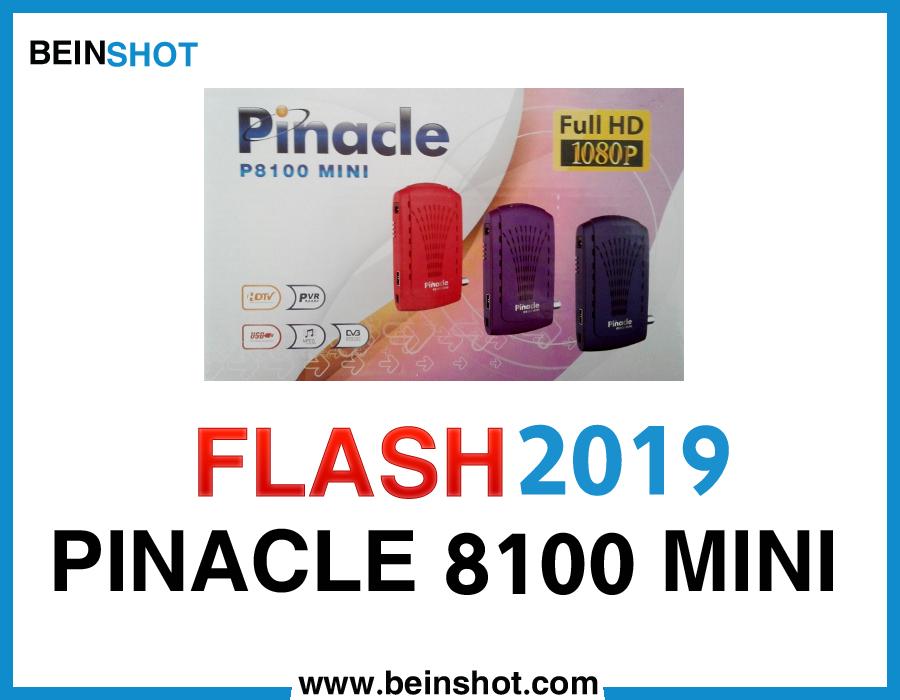 التحديث  الرسمي لجهاز PINACLE 8100 MINI