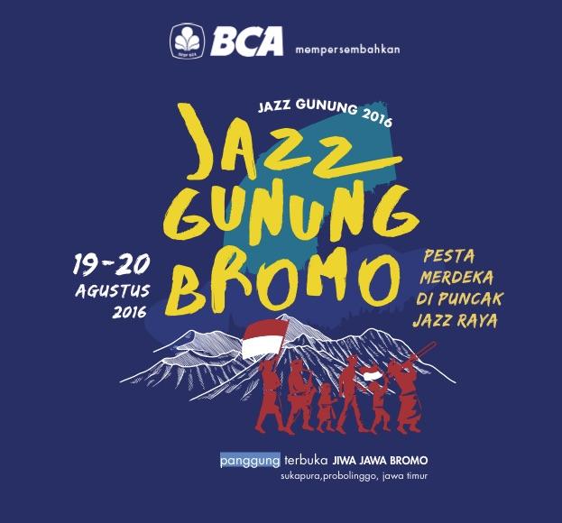 Pesta Merdeka Di Puncak Jazz Raya - Jazz Gunung Bromo 2016