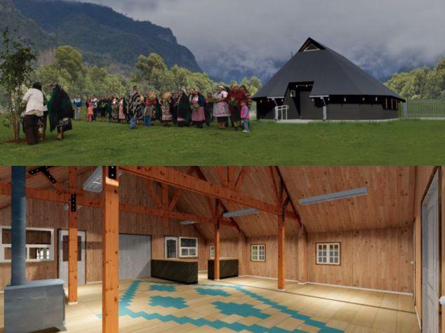 Ruka turística Comunidad Mapuche Kiñe Nehuen