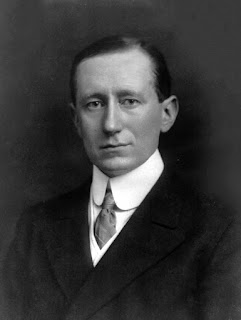Guglielmo Marconi, painted in 1908