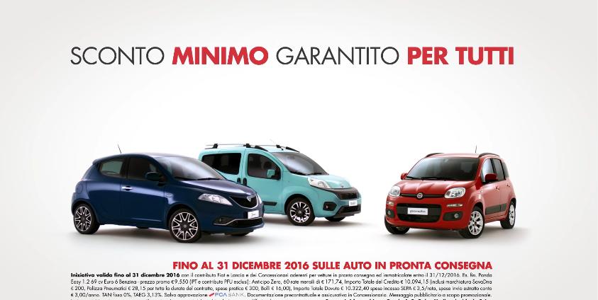Canzone Offerte Fiat e Lancia pubblicità sconto minimo garantito - Musica spot Dicembre 2016
