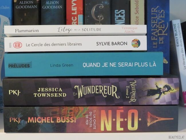 achats livres septembre 2020