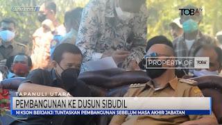 Bupati Taput Nikson Nababan Tuntaskan Pembangunan Ke Dusun Sibudil Sebelum Masa Akhir Jabatan