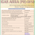 ICAR AIEEA (PG)-2019 Important Dates at a Glance