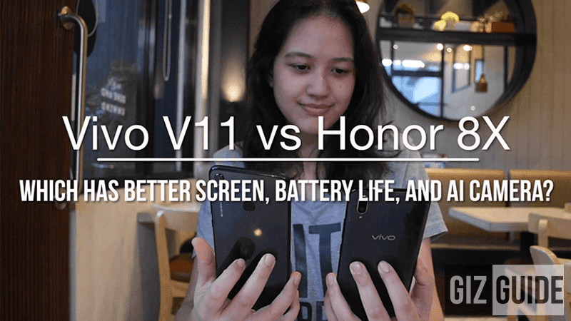 Watch: Honor 8X vs Vivo V11 - Which phone has better screen, battery life, and AI camera?