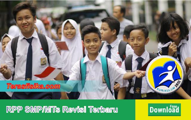 RPP K13 SMP/MTs Kelas 7, 8, dan 9 Revisi Terbaru Lengkap