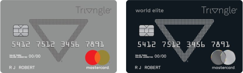 Canadian Tire Mastercard >> 加国理财 Canadian Tire Triangle World Elite Mastercard 简介