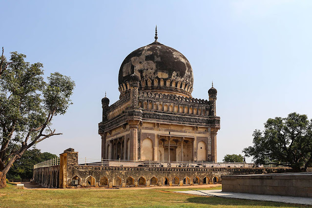 Tomb of Mohammad Quli Golconda Hyderabad