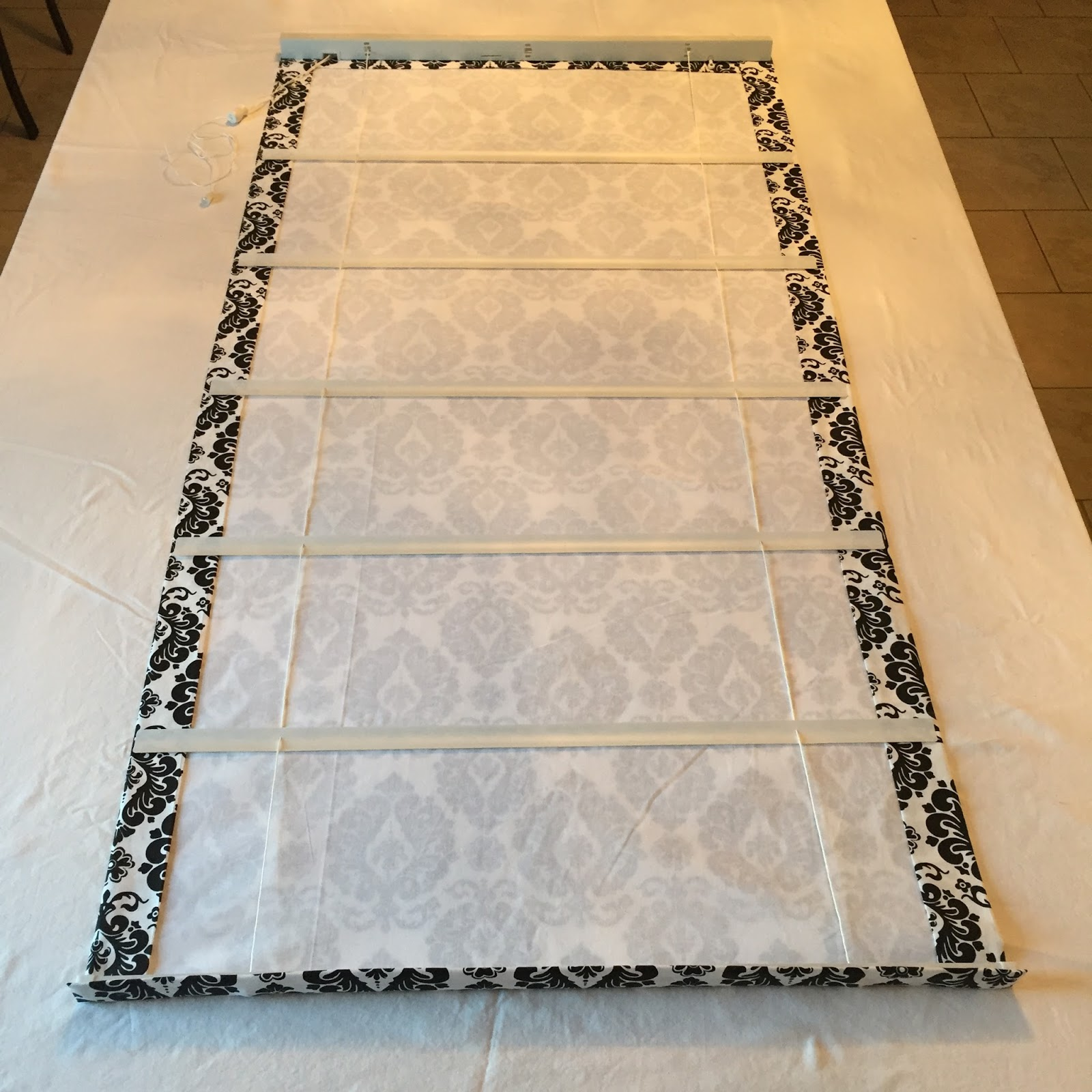 Beauty101byLisa: DIY No Sew - LINED ROMAN SHADES Using ...