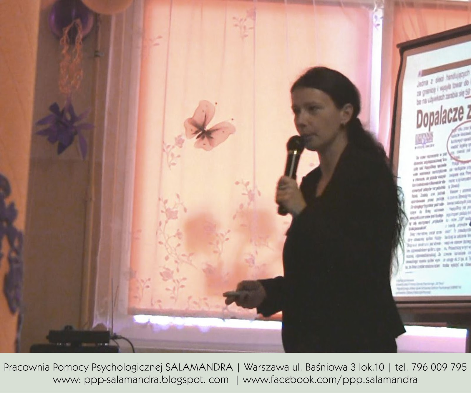 Dobry psycholog Warszawa na konferencji Bliżej Dziecka