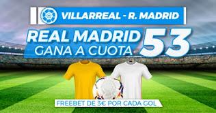 Paston Megacuota Villarreal vs Real Madrid 21-11-2020