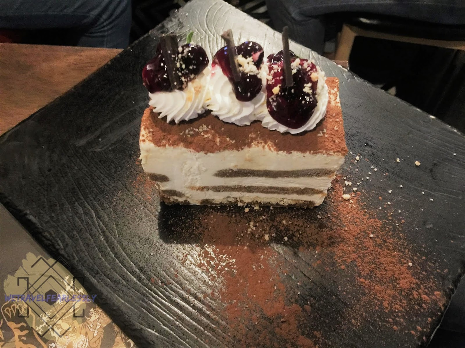 Tiramisu in Soru Izakaya in Burgos Circle, BGC - WTF Review