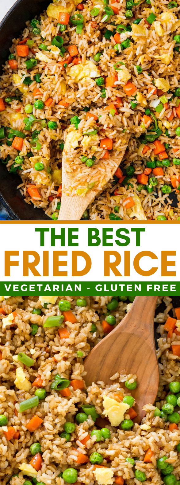The BEST Fried Rice #veggies #vegetables