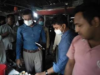 সিরাজগঞ্জ উল্লাপাড়ায় বিএসটিআই লাইসেন্স না থাকায় ৪লক্ষ ৬৫হাজার টাকা জরিমানা