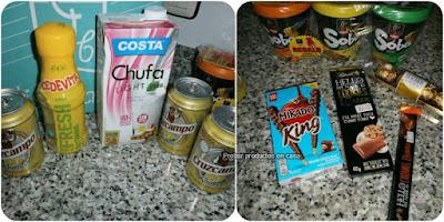 Disfrutabox Abril 2016: Costa, Soba, Mikado, Ferrero Rocher, Cruzcampo, Hello