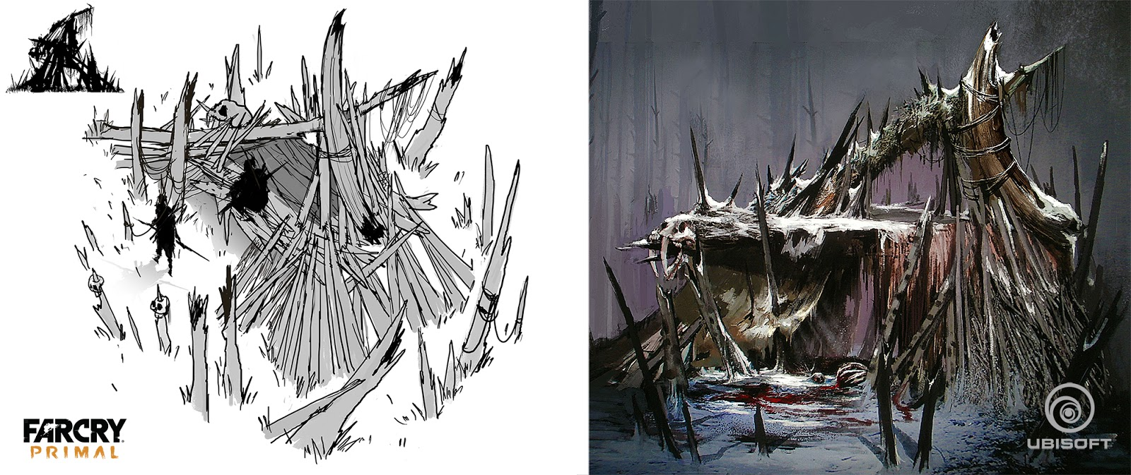 The Last Ticket To Mars More Farcry Primal Concept Art