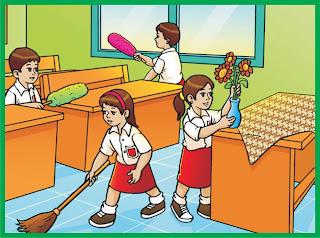 Cara Menjaga Kebersihan di Lingkungan Kelas