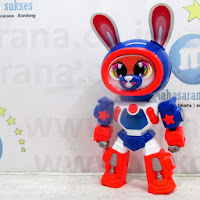 royal robot kelinci baby tricycle