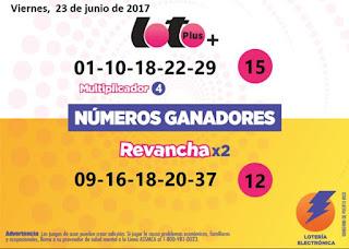 resultados-loto-plus-doble-revancha-viernes-23-6-2017