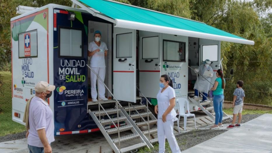 Unidades Móviles visitarán 21 sitios llevando el servicio de salud