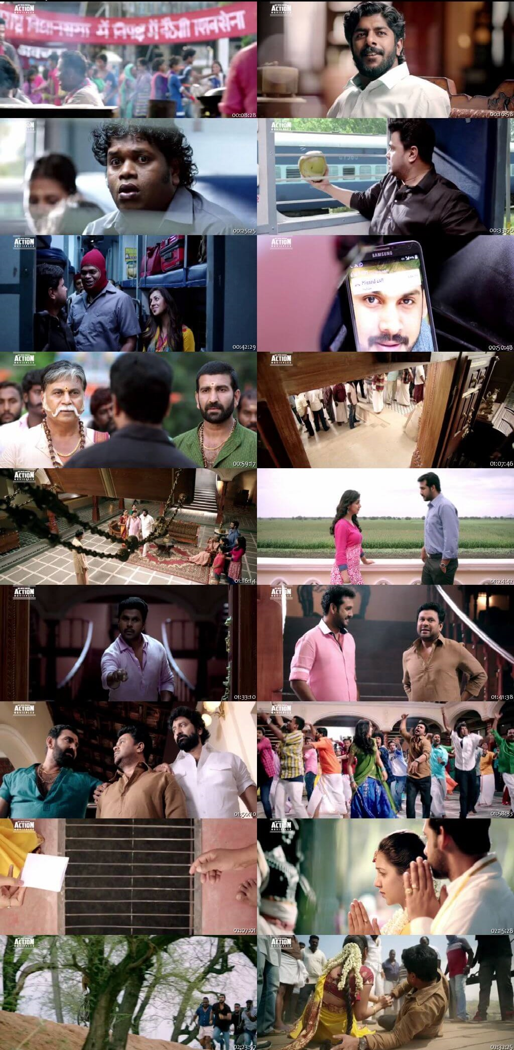 Screen Shot Of Tollywood Movie Jhol Jhal 2019 Full Movie In Hindi Dubbed Free download 720P HD