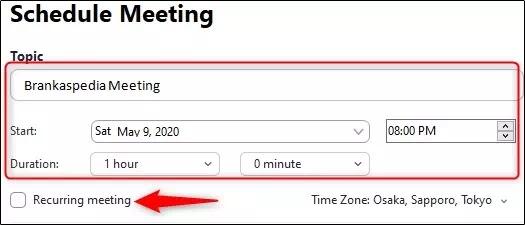 Cara Membuat Jadwal Rapat di Zoom Meeting-2