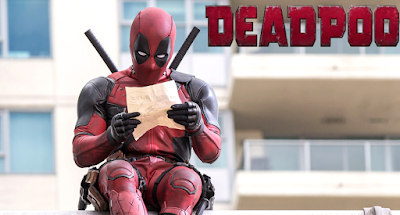 Deadpool - a photo cropper's worst nightmare
