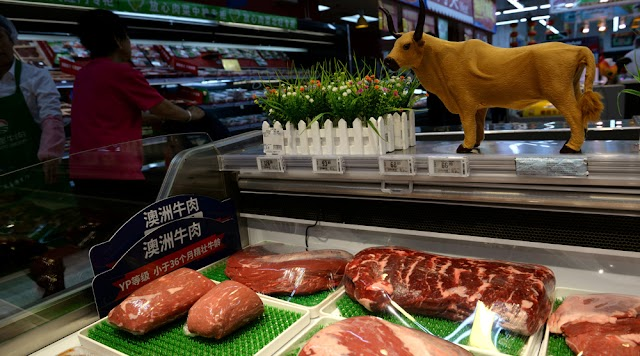China ends imports of beef from Australia  amid COVID-19 dispute