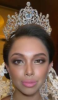 aquamarine tiara pahang malaysia queen tengku ampuan azizah amida afsha shasha