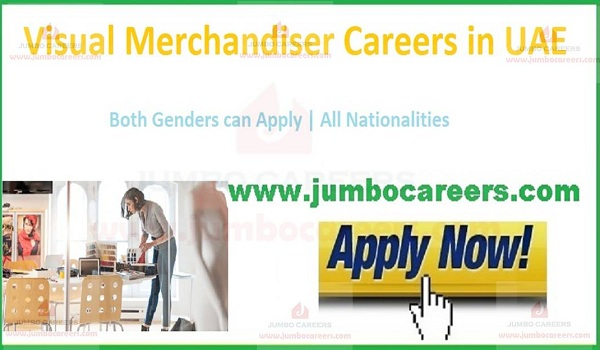 Current Dubai Merchandiser jobs, UAE latest jobs,
