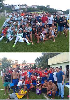 Grande final do Campeonato Municipal de Futebol de Campo de Miracatu 2019