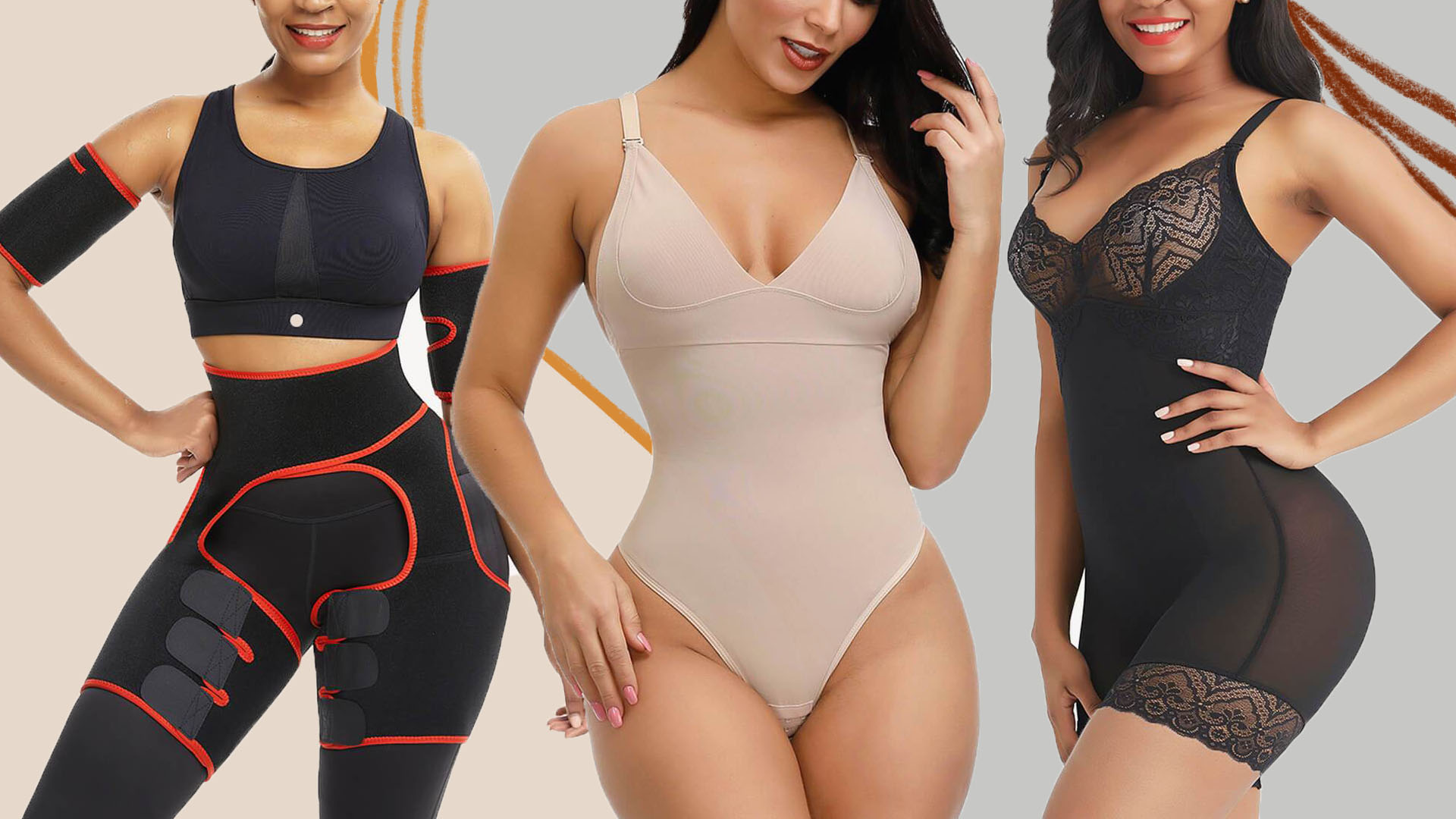 Breathable comfortable shapewear