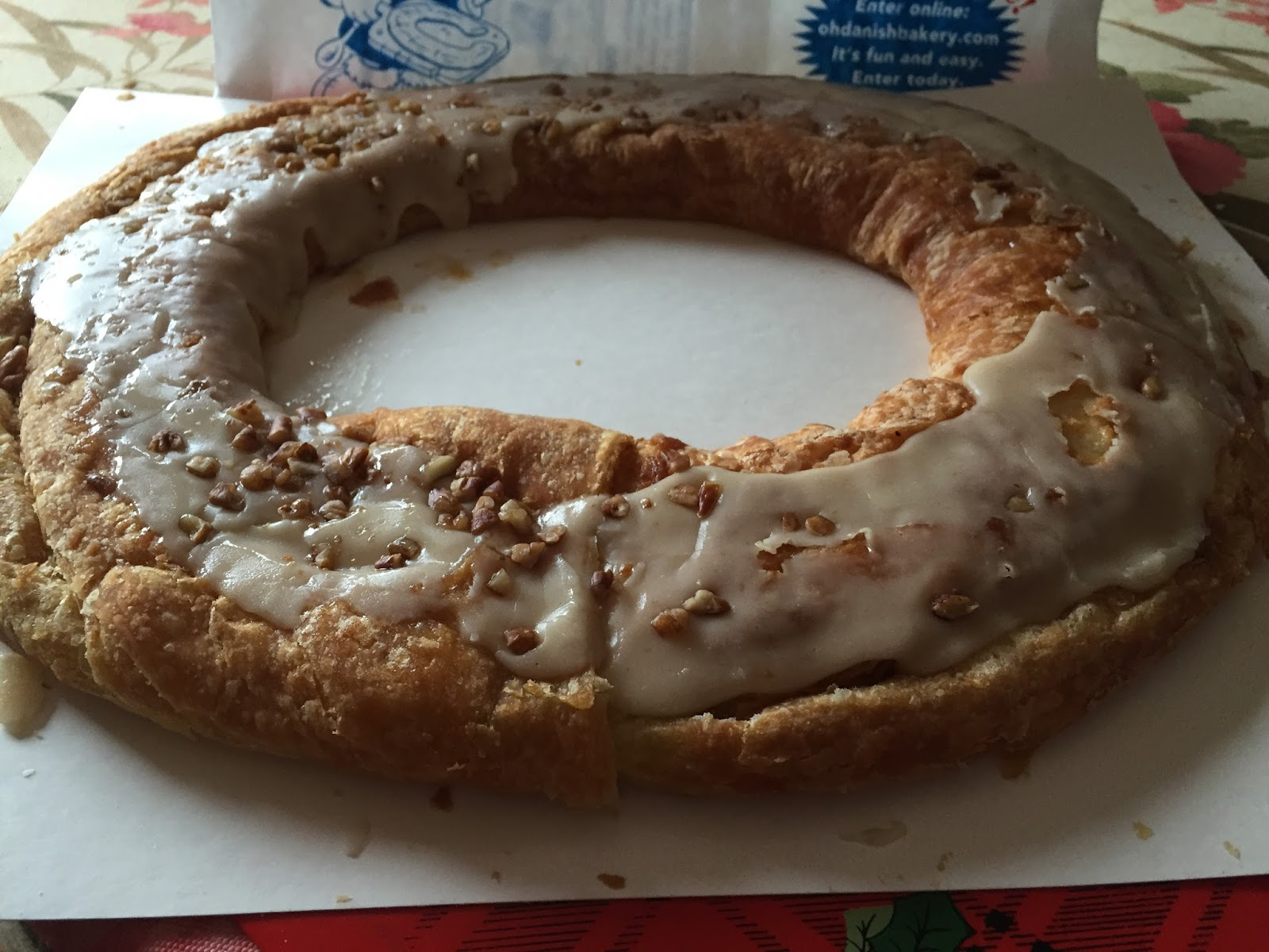Kringle Cake Trader Joe