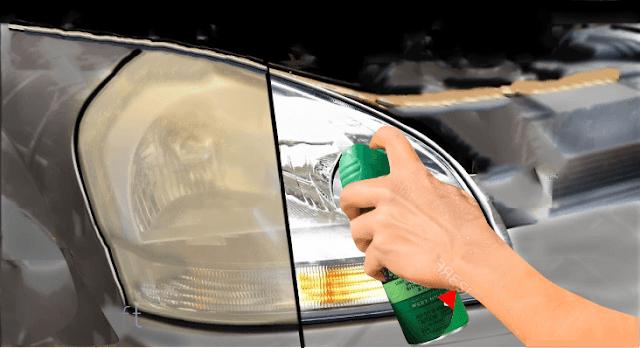 ارجع مصابيح سيارتك كالجديدة باستخدام مبيد حشري