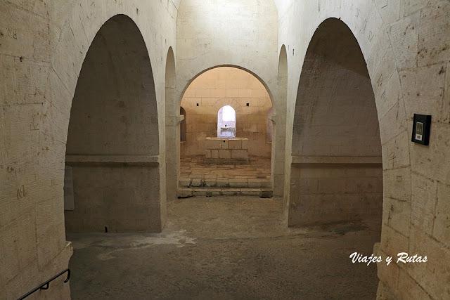 Cripta de Montmajour, Arlés, Francia
