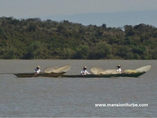 Pescadores del Lago de Pátzcuaro en Michoacán