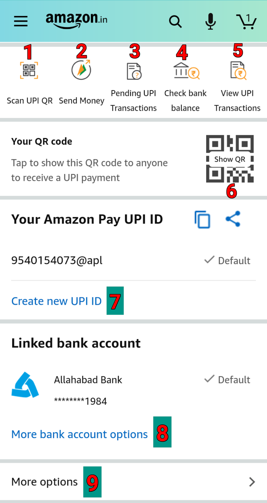 How to create amazon pay upi- Amazon pay upi sing up कैसे कऱे