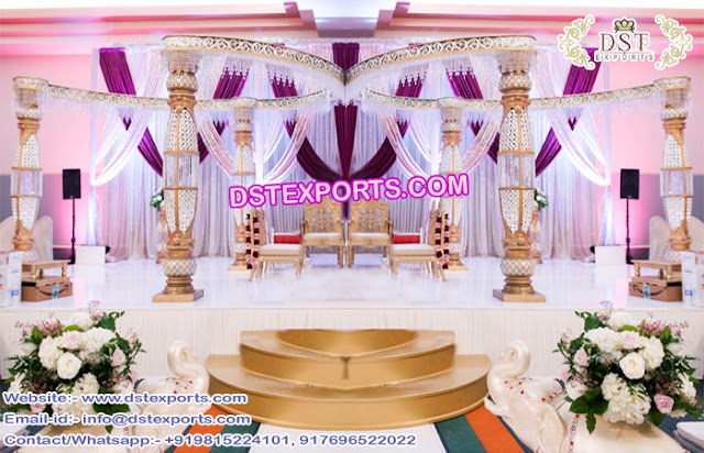 Wedding Mandap Manufacturer - DST EXPORTS